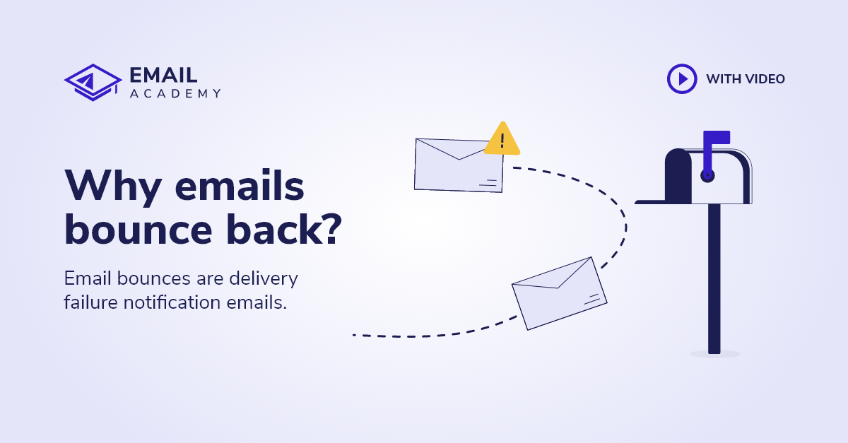 Why emails bounce back?